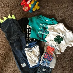 Baby boy clothes bundle